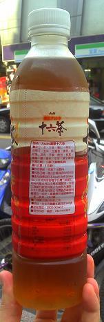 三商朝日-濃味-十六茶