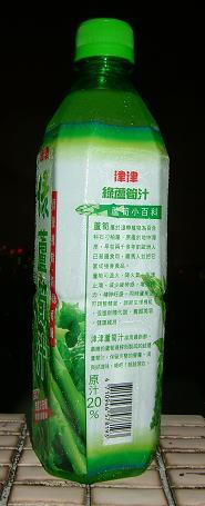 禾林-津津-綠蘆筍汁