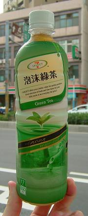 統一超商-7select-泡沫綠茶