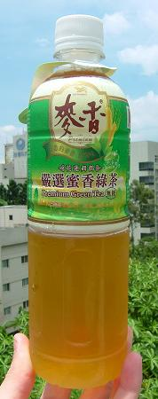 統一-麥香-嚴選-蜜香綠茶